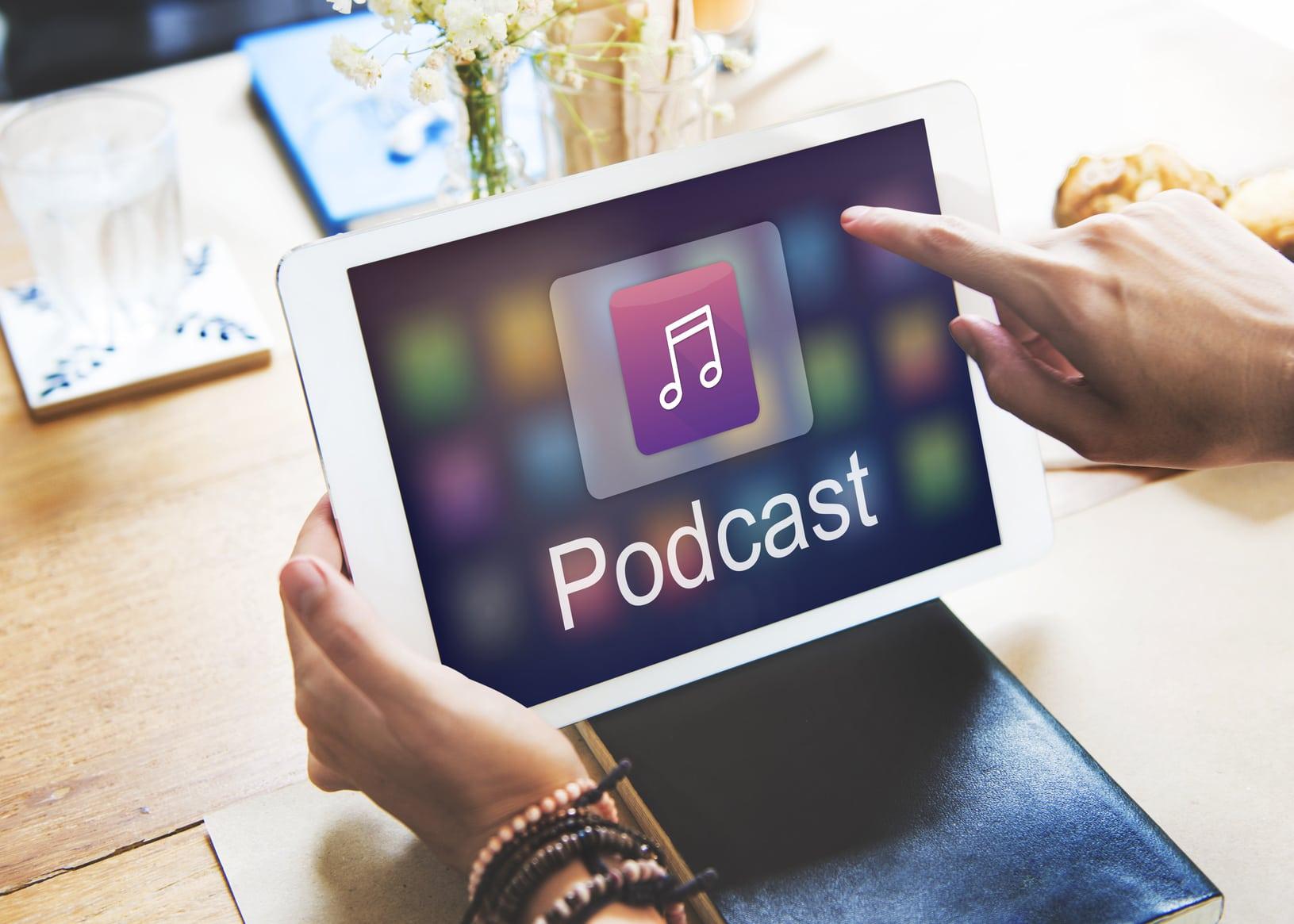 Von Reichweite bis Technik gab es alles rund ums Thema Podcasts